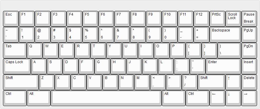 75% toetsenbord