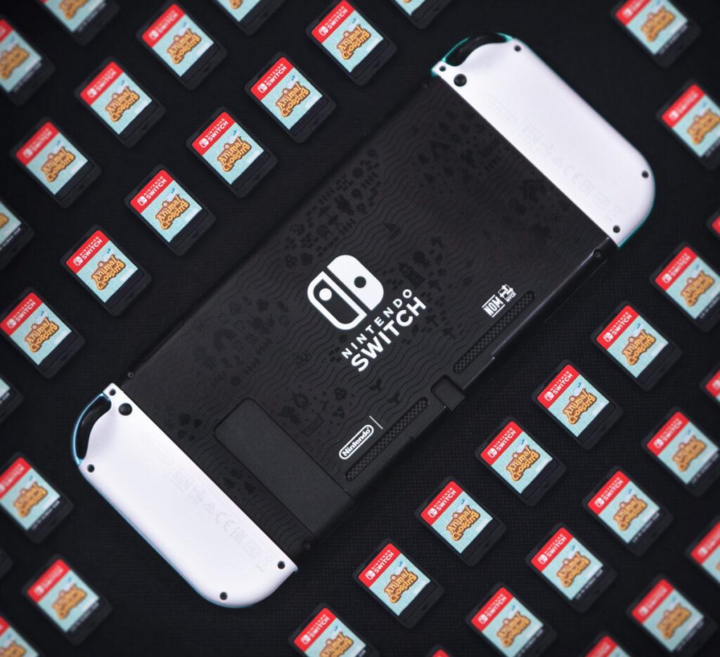 Nintendo Switch met gamekaart